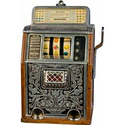 10 Cent Caille Brothers Co. Superior Slot Machine c1925