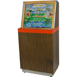 "25 Cent Bally MFG. Co. ""Sportsman"" Upright Arcade"