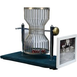Chuck-A-Luck Game Hourglass Wire Cage