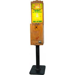 """10 Cent Mike Munves """"Knotty Peek"""" Arcade View Machine"""