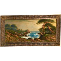 Original A.D.M. Cooper Oil Painting c1919, Depicting Oc