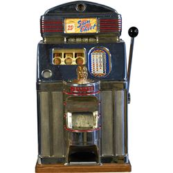 25 Cent O.D. Jennings & Co. Sun Chief Super Deluxe Slot