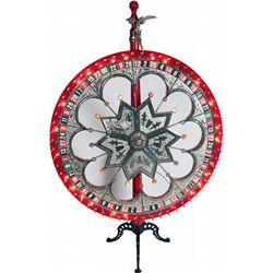 Large Light-Up Gambling Paddle Wheel