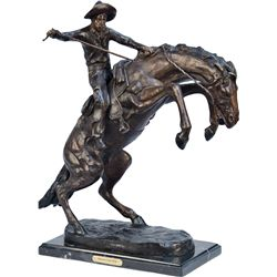"""""""Bronco Buster"""" Contemporary Countertop Frederic Reming"""