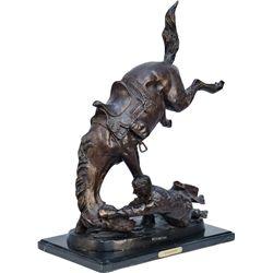 """Wicked Pony"" Contemporary Countertop Bronze Frederic R"