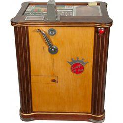 "5 Cent Pace MFG. ""Saratoga"" Horse Race Console Slot Mac"