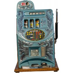 25 Cent Mills Novelty Extra Bell Slot Machine