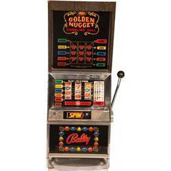 25 Cent Bally MFG. Co. Golden Nugget Gambling Hall Tall