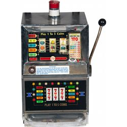 25 Cent Bally MFG. Co. Model 955-1 Slot Machine