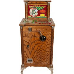 """5 Cent Bally MFG Co. """"Double Up"""" Console Slot Machine"""
