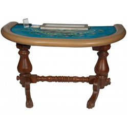 Contemporary Lucky Ladies Blackjack Gambling Table w/ s