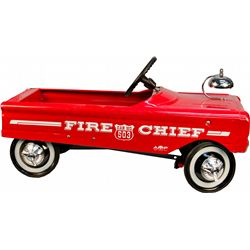 Vintage AMF Fire Chief Car No. 503 Child's Red Pedal Ca