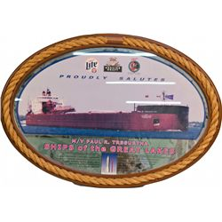 Miller Beer Proudly Salutes Paul R. Tregurtha Ships of