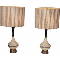 Pair Of Living Room Table Lamps