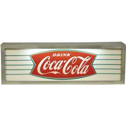 Drink Coca Cola Light Up Box Sign