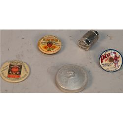 Lot of 5 Early Advertisement Items: