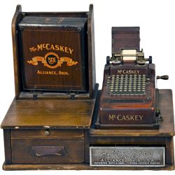 Early The McCaskey System Cash Register And Filing Syst