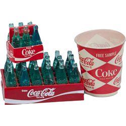 Lot of Small Coca-Cola Items: