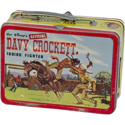 "Walt Disney's ""DAVY CROCKETT At The Alamo"" Tin"