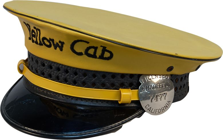 Lancaster Brand Yellow Cab Taxi Driver Hat. Loading zoom 0127f1e44da