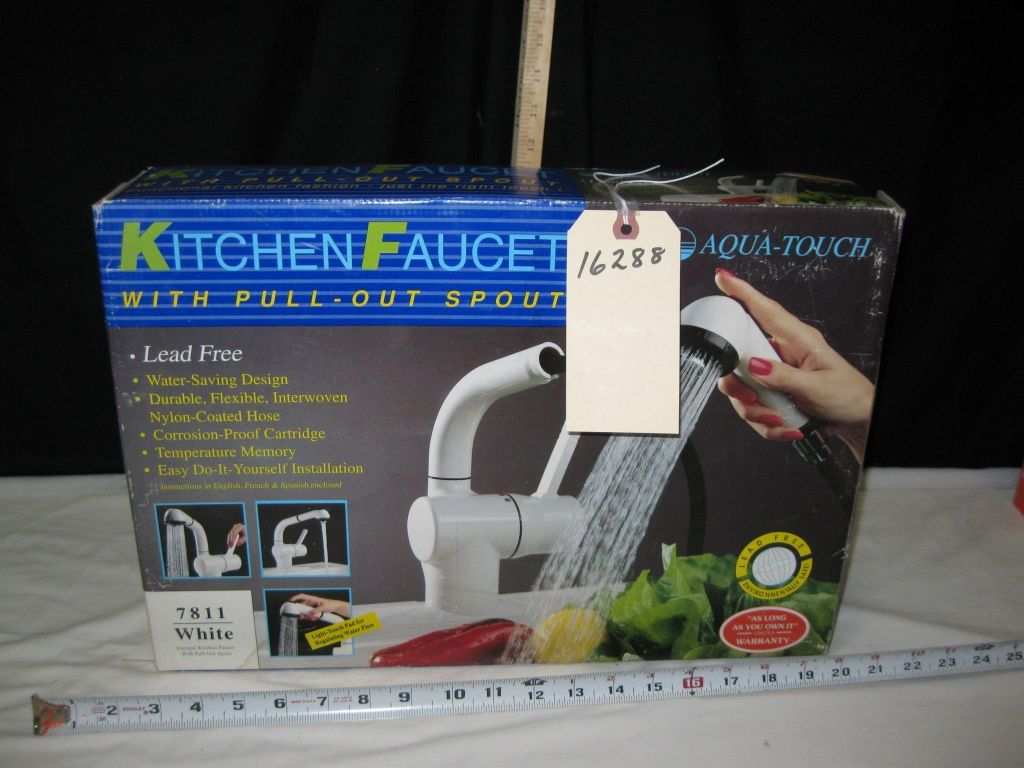 aqua touch kitchen faucet new in the box rh icollector com  aqua touch kitchen faucet repair