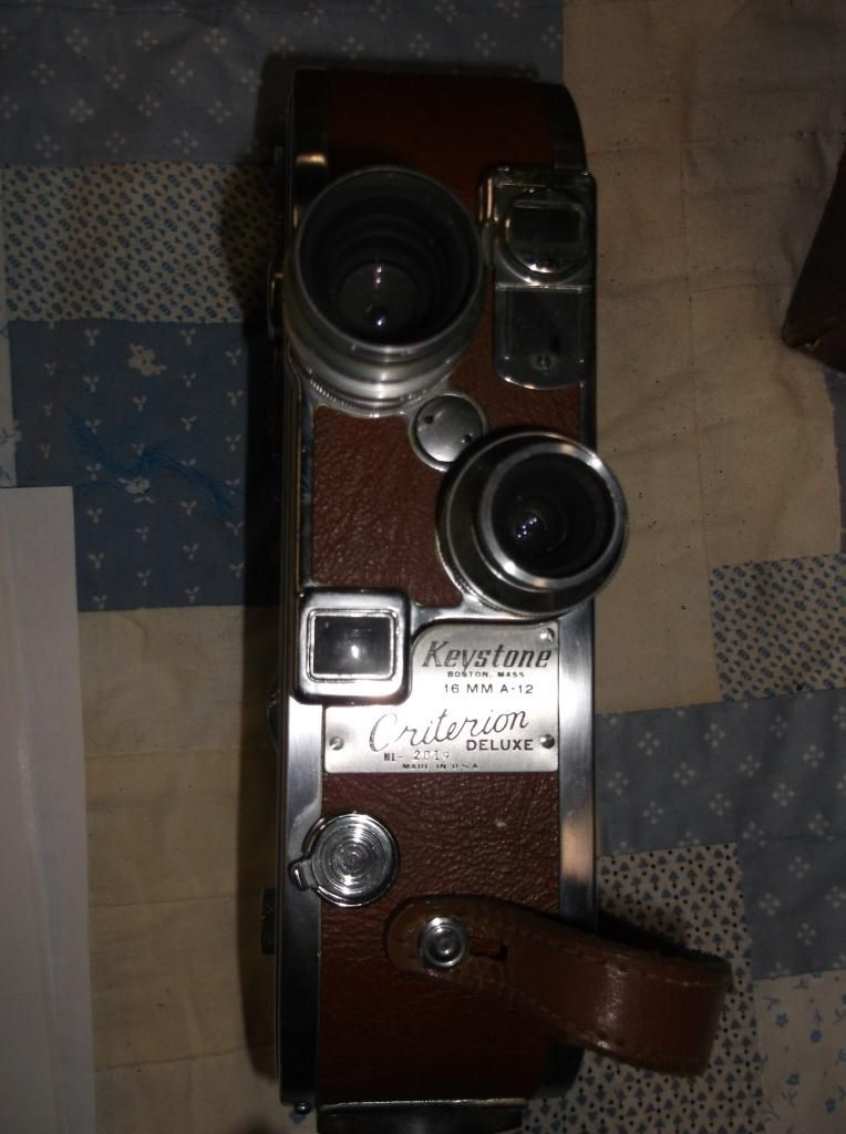 Keystone 16MM Movie Camera in Case Model A 12 With 1 9 Lens