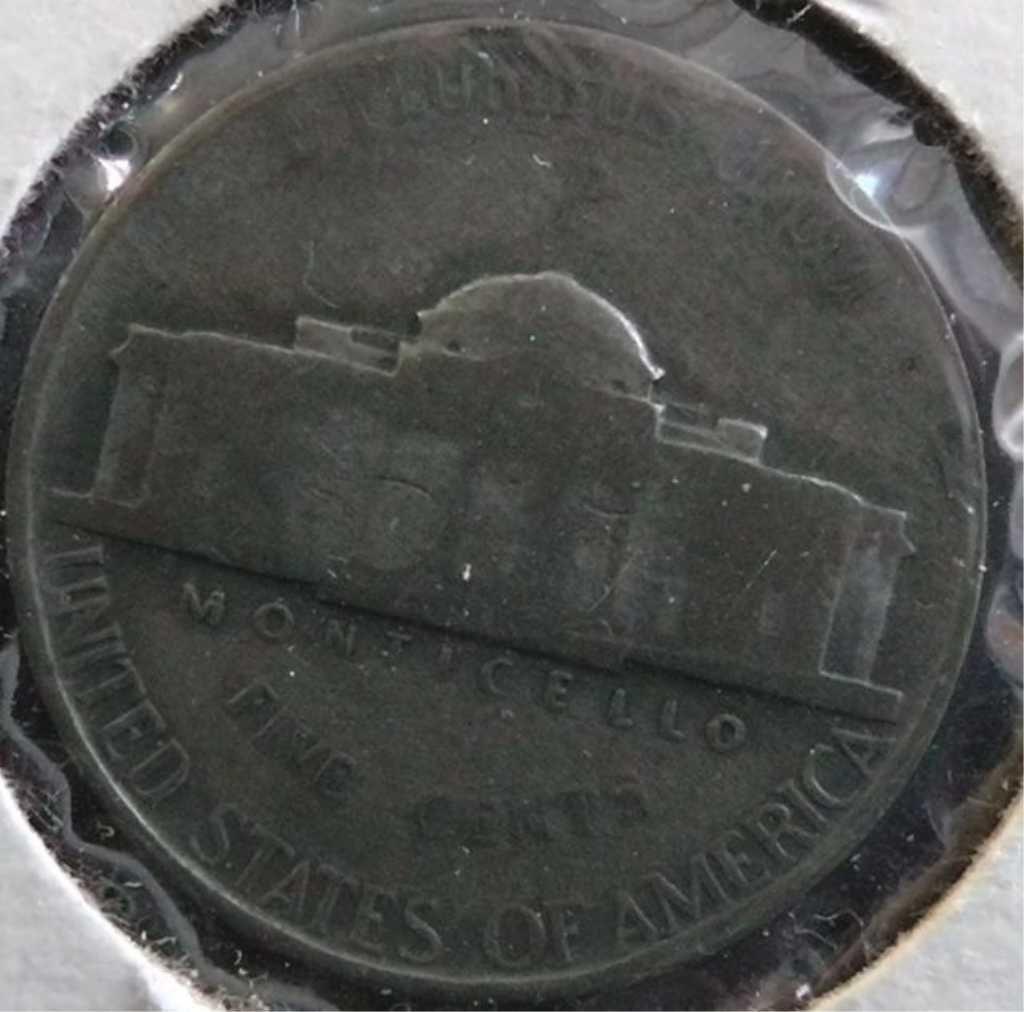 1944P Silver War Nickel, 1958D Wheat Penny & 1973D, 1988D, 1976D, 1971D  Kennedy Half Dollars