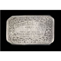 1933 World Series Rodeo Buckle