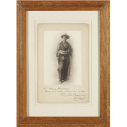 Wm S Hart Photo inscribed to Nancy Russell