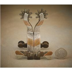 Ray Anderson Miniature Spurs