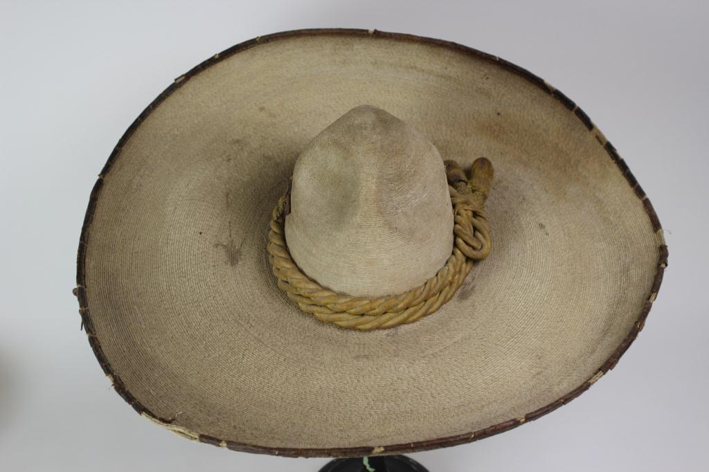 Antique Mexican sombrero hat. Loading zoom 773715dbd25