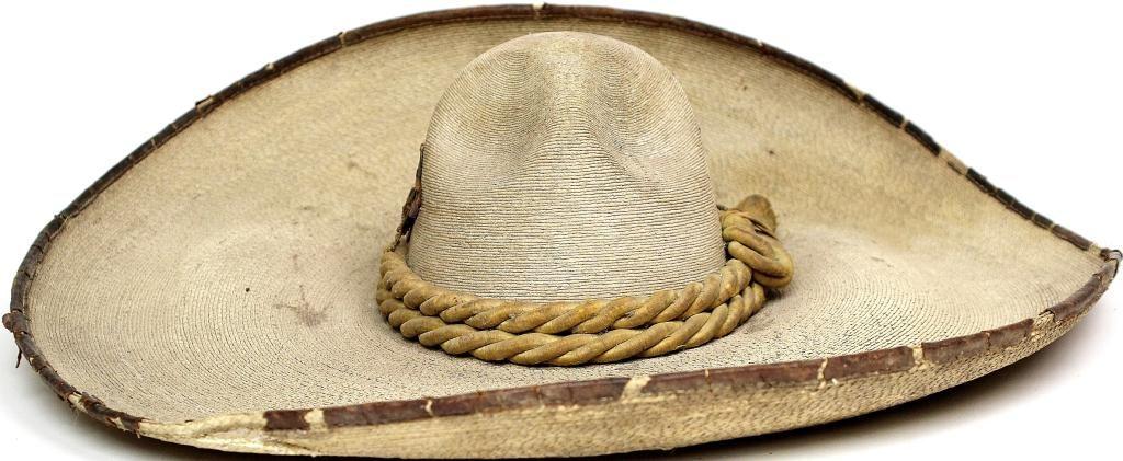 ... Image 2   Antique Mexican sombrero hat b95efee0174