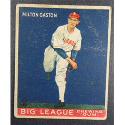 1933 Goudey baseball card #65  GASTON VGEX Book value $165