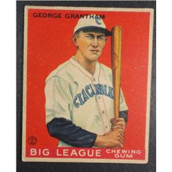 1933 Goudey baseball card #66  GRANTHAM VGEX Book value $165