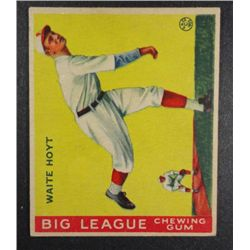 1933 Goudey baseball card #60  WAITE HOYT VG+ Book value $400