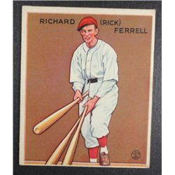 1933 Goudey baseball card #197  RICK FERRELL VGEX+  Book value $400