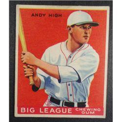 1933 Goudey baseball card #182  HIGH  EX Book value $165