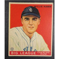 1933 Goudey baseball card #75  KAMM  EX Book value $165