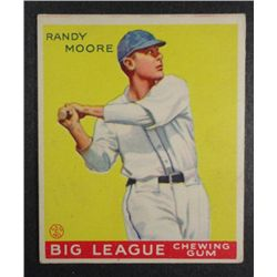 1933 Goudey baseball card #69  MOORE  EX Book value $165