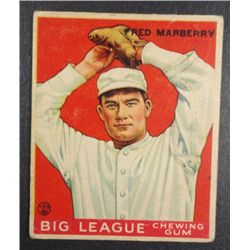 1933 Goudey baseball card #104  MARBERRY  VG+  Book value $165