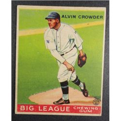 1933 Goudey baseball card #95  CROWDER  VGEX+ Book value $165