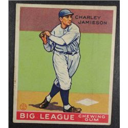 1933 Goudey baseball card #171  JAMIESON  VGEX Book value $165
