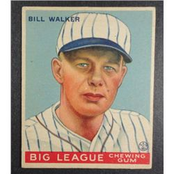 1933 Goudey baseball card #94  WALKER  EX Book value $165