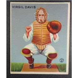 1933 Goudey baseball card #210  DAVIS  EX Book value $165