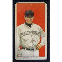 T206 tobacco card Sam Strang Baltimore  Good  colorful