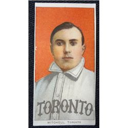 T206 tobacco card Fred Mitchell  looks EX but been trimmed  VG