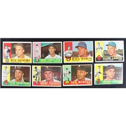 30 1960 Topps baseball cards great start to a set EX or better
