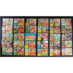 30 different 1962 Football cards VG/EX average  many solid EX GREAT START TO A