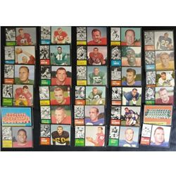 30 different 1962 Football cards avg  EXMNT  many NMNT GREAT START TO A
