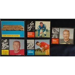 7 star cds 1962 Topps Football #5 BERRY EXMNT-151 KILMER RC VG-152 BRODIE EXMNT